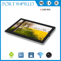 10.1 inch Hot Sell POE RJ45 Port Android 4.4 Super Smart Tablet pc