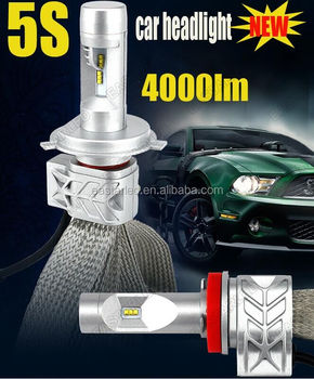 4000LM 5S h7 4000lm auto motorcycle head light LED car head light
