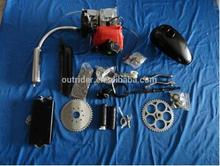 High-Tech New 4 Stroke 49cc Gas Bicycle Engine Kit CE Approved