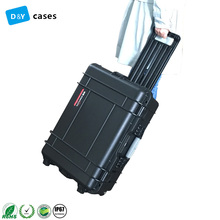 OEM Manufacturer hard Waterproof Hard Plastic Tool Carrying Case with wheel
