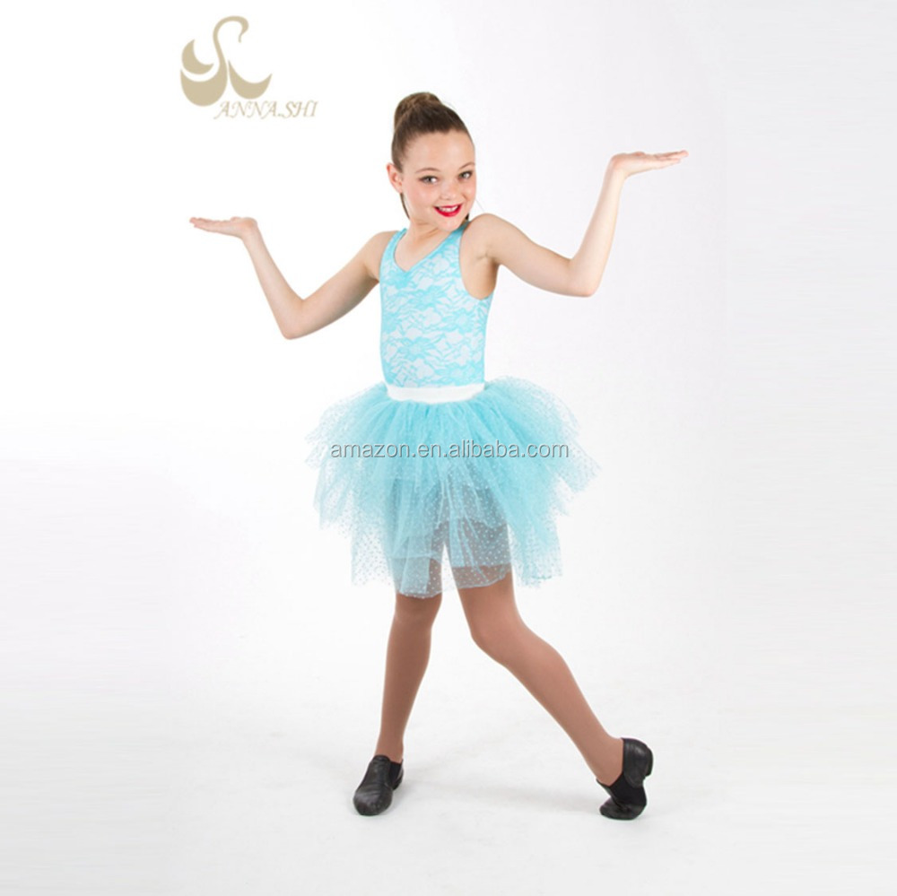 girls leotard dance ballet dress skirt tutu romantic disguise bird child/dance costumes tutu