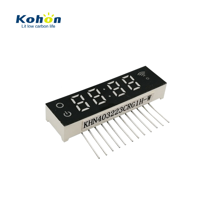 Binary to decimal conversion customized 4 digits common cathode 7 segment led numeric display