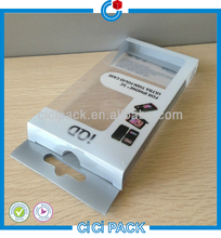 Personal Style Electronic PP PET PVC Plastic Packaging Package Box For Iphone Case
