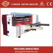 Paperboard printing eletric slotting rotary die cutting machine