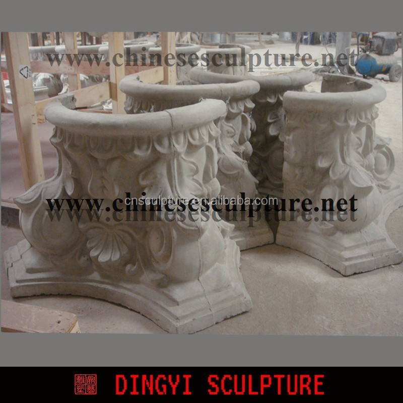 GRC moulding,roman pillar for building decoration
