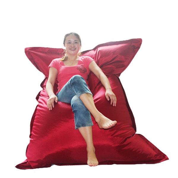 140*180cm indoor and outdoor use rectangle shape bean bag pillow