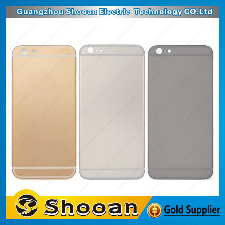 wholesale housing replacement for iPhone 6,for iphone 6 matte black housing gold logo