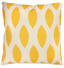 wholesale washable yellow car/sofa seat throw pillow case heat transfer printing indoor linen cushion cover