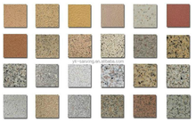 Environment friendly stone spray finish for wall decoration