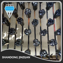 All types of rock drilling tools such as tapered button bit, R22, R25, R28, R32, T38, T45 and T51 button bit and drilling rods