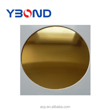 golden mirror aluminum composite recycling plastic wall panel