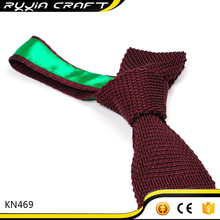 Factory price polyester knitted necktie manufactured in China