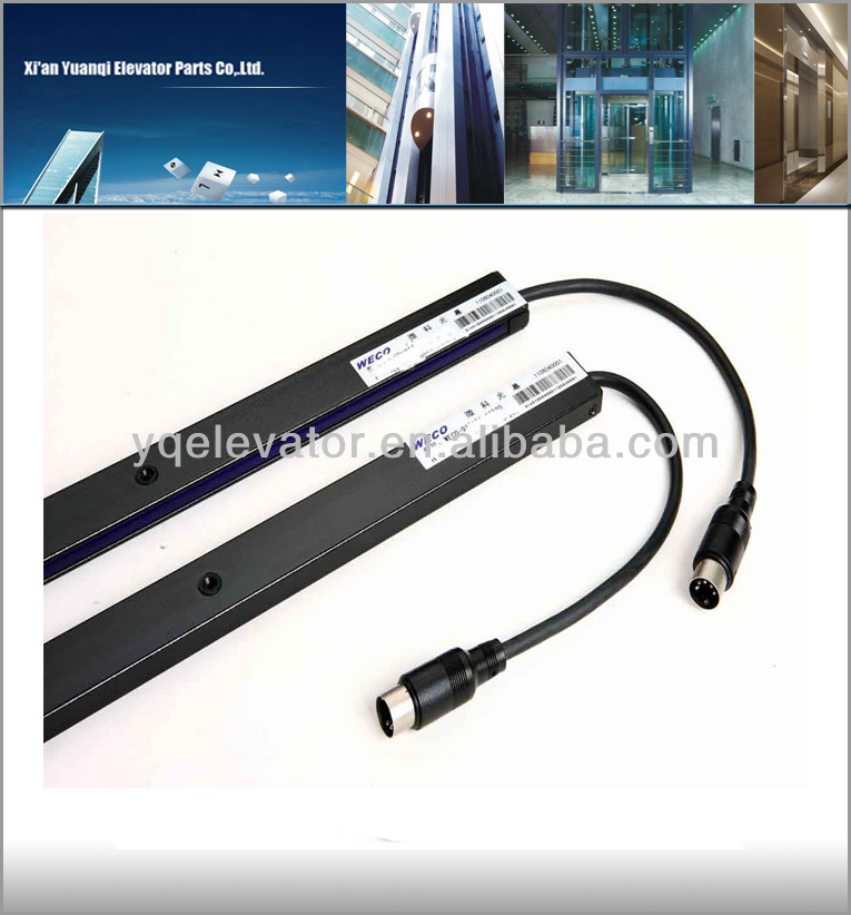 elevator door safety edge, lift curtain, elevator door sensor