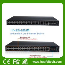 10g spf rj45 port managed ethernet switch