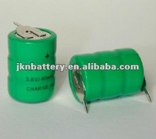 1.2v 40mah nimh button cell pack Nimh Button Battery