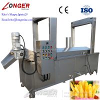 Gas Type Continuous Potato Chips/Peanut/Chicken/Vegetable/Croquetas Deep Fryer/Frying Machine