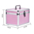 Yaeshii Beauty Pink/Black China Aluminum Metal Makeup Box Case Professional