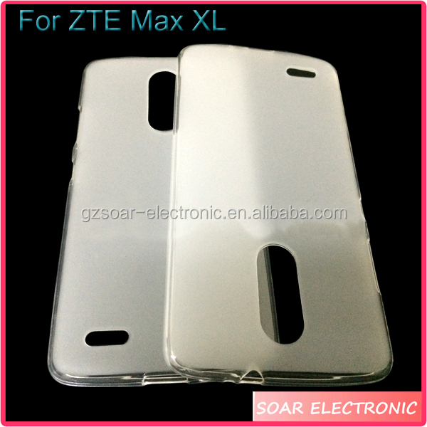 [Soar]Factory Price Gel TPU Mobile Phone Case For ZTE Max XL