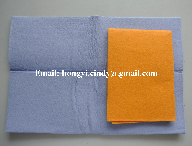 Household cleaning products super absorbent germany needle punched nonwoven cleaning wipes