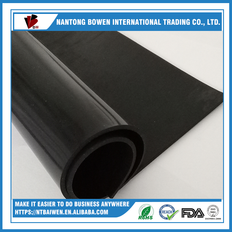industrial raw material sbr rubber sheet natural rubber products