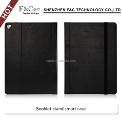 2017 hot new products waterproof case for tablet universal pc case for ipad pro 12.9 booklet stand smart waterproof case