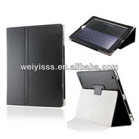 Black New Smart PU Leather Folio Case Cover with Stand for The New iPad 2/3/4