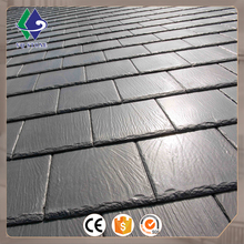 Quarry price polished natural tile black roof slate