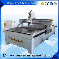 wood design cnc machine for home kitchen with PVC vacuum table and water pump price