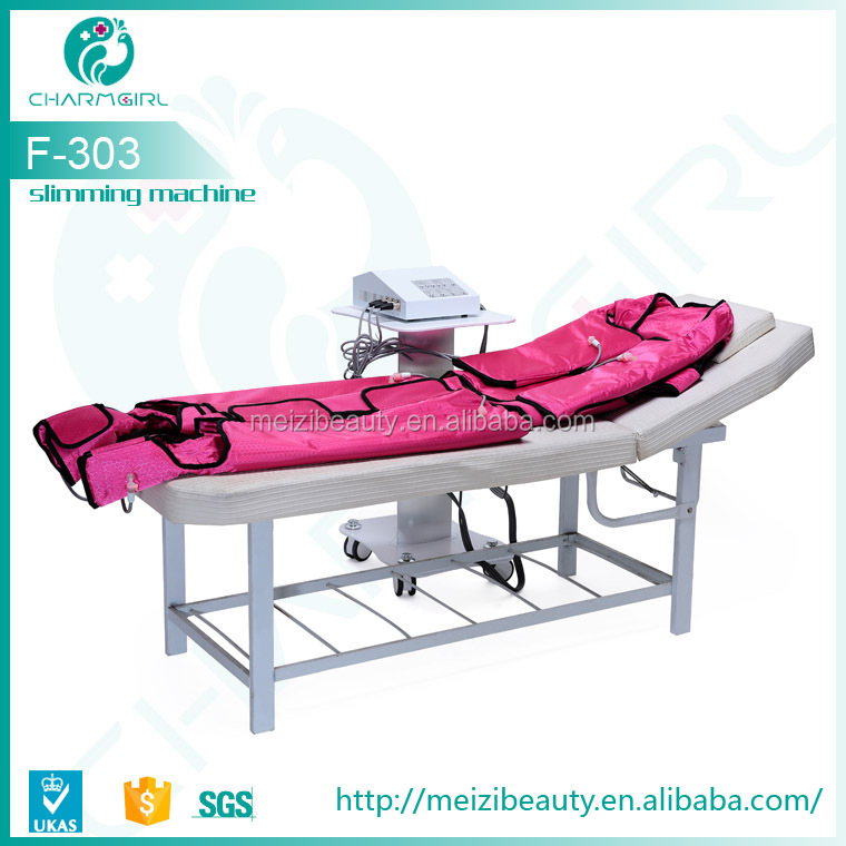 High quality pressotherapy machine with infrared lymph drainage suit