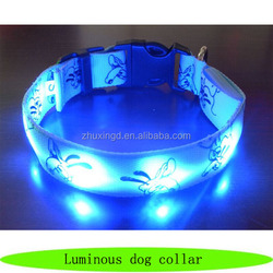 Wholesale luminous dog collar, hot pets supplies, private label pet products