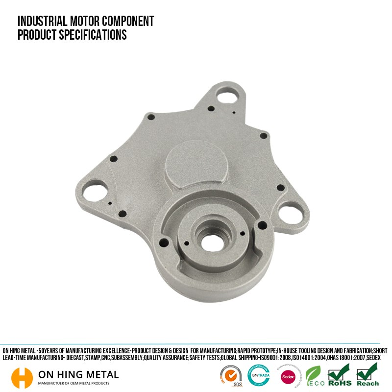 Electric die casting scooter motor parts