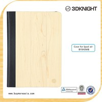 2015 new products wood marble hard cover for iPad Air 2