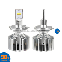 High Power Car H4 LED Headlight Bulbs,4500LM High Lumen Car LED Bulb for Chevrolet