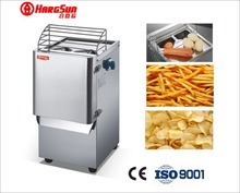 Stainless steel electric commercial potato chip cutter potato grater machine