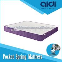 Visco Gel Memory Foam Dreamland Pocket Spring Wedding Kingdom Mattress AI-1314