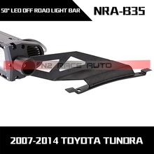 off road 50inch 52inch roof curved bar light mount bracket perfect fits for TOYOTA TUNDRA
