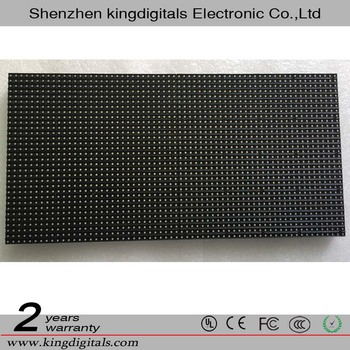 Indoor P4 Full Ccolor 32*64 pixels LED Module with CE/ROHS/FCC certificate