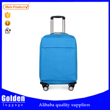 competitive price and quality service EVA polyester trolley travel luggage