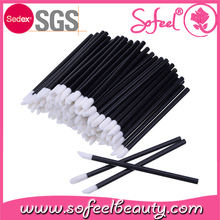 Global sourcing festival china factory disposable lip balm lip gloss makeup brushes