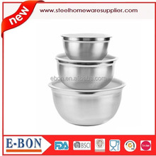 Hot Sale Premium Stainless Steel Mixing Bowls with Lids Set of 3