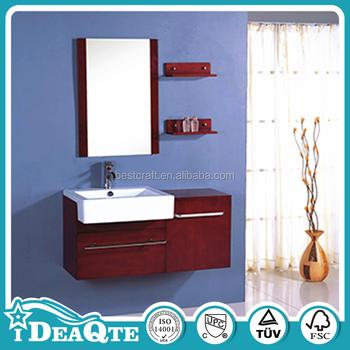 Fancy pace wood cheap single chinese bathroom vanity buy for Pace industries inc bathroom vanities