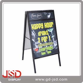 Welcome OEM Customize Chalkboard Free Standing And Folding Antique Writing Slate Chalk Board