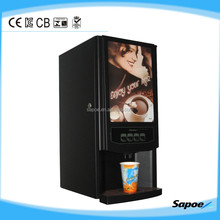 SC-7903 Factory!!!Table Top European Sytle commercial korean coffee vending Machine