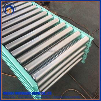 material handling conveying system steel tube conveyor roller