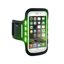 waterproof rechargeable led flashing safety armband for running