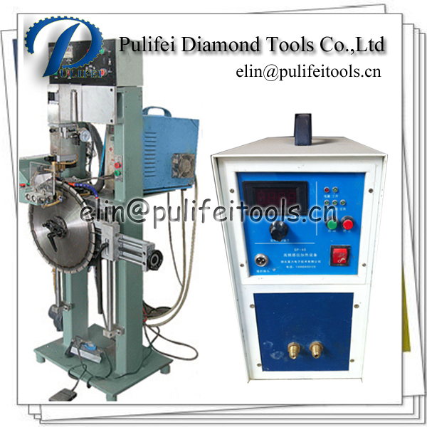 Semi Automatic High Frequency Induction Brazing Machine for Saw Blade Diamond Segment Welding Machine