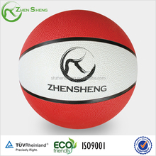 Kids use rubber basketball from Shanghai Zhensheng Manufacturer