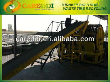 radial tire shredder