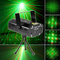 2015 Hot Sale Christmas Decorations Mini LED Laser Stage Lighting/LED Stage Light & DJ Disco Party Dance Show Light