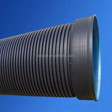 4 INCH LARGE DIAMETER HDPE DOUBLE-WALL CORRUGATION PIPES